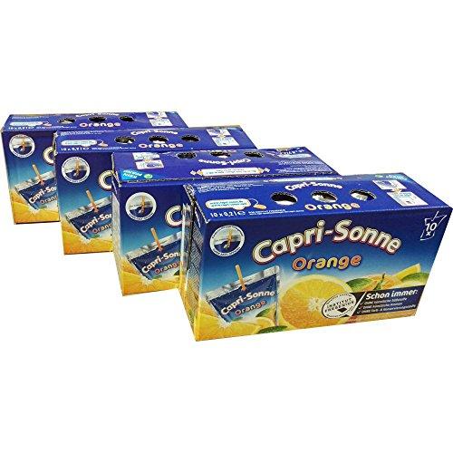 Capri Sun Orange, 4er Pack (4 x 10X0,2 l Packung)