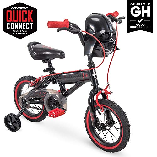 12in Star Wars Darth Vader Boys Bike by Huffy, Quick Connect