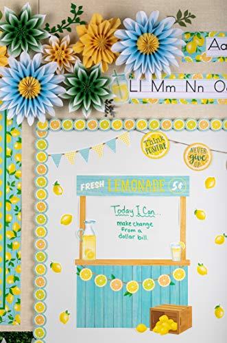 Teacher Created Resources Lemon Zest Lemonade Stand Bulletin Board (TCR8491) Photo #6