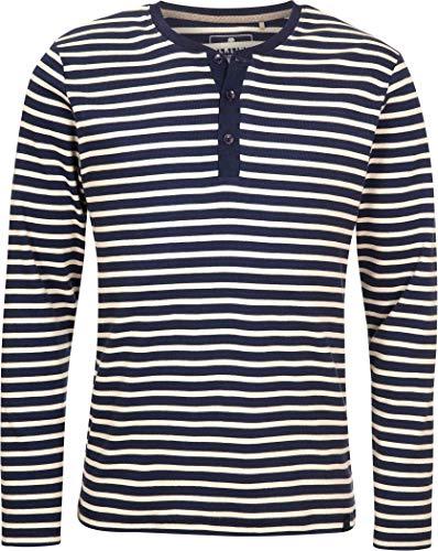 Elkline Whenever Langarm T-Shirt Herren blueshadow/White Größe S 2020 Langarmshirt
