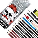 CRETACOLOR Set de dibujo para tatuajes