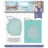 Sara Signature Collection Sara Signature - Nautical Collection - Metal Die Set - Fishing Net, Silver