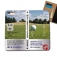 Galaxy A21 UQ mobile SCV49 ケース スマホケース 手帳型 ベルトなし 文庫本 ゴルフ アプローチ編 小説 手帳ケース カバー バンドなし マグネット式 バンドレス EB189010115002