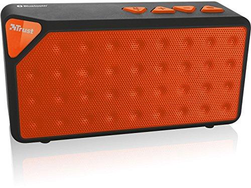 Trust Urban Yzo - Altavoz portátil con Bluetooth, naranja