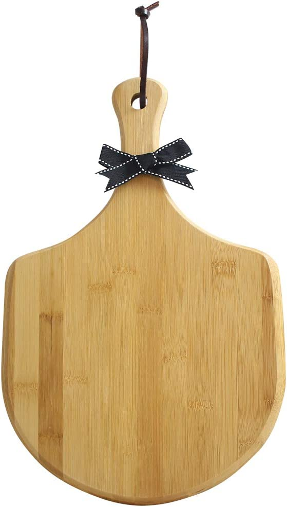 OFFicial Bamboo pizza peel Wood Serving Charcuterie Boar and Cheese Pan Bombing free shipping