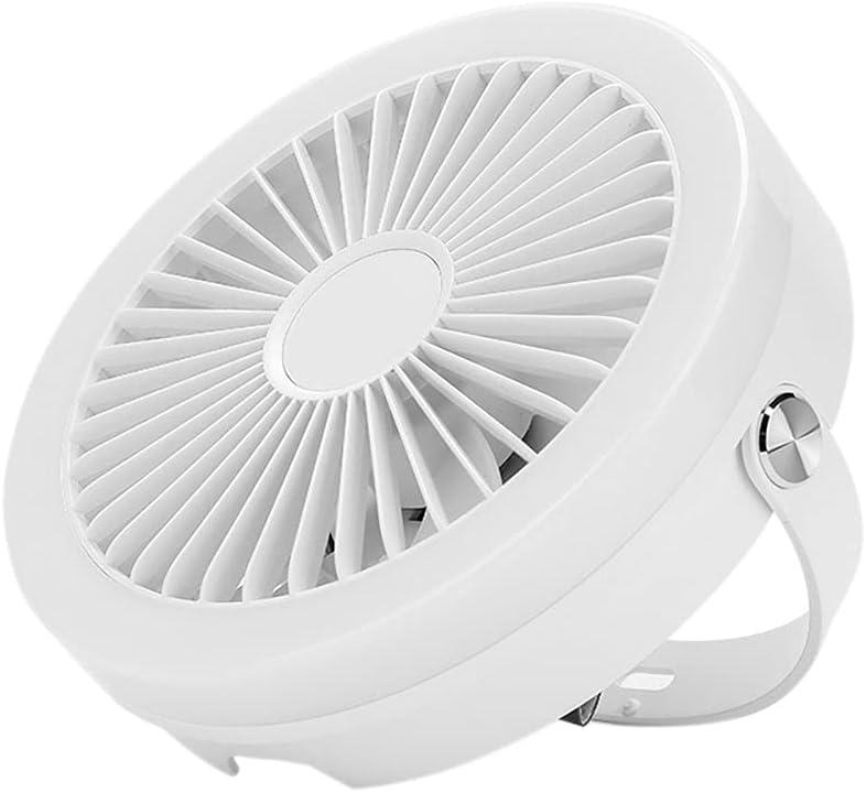 CHAPAI Luz Multifuncional Ventilador Techo, Suministro Aire Velocidad Viento Tres Bloques, Equipado Control Remoto, Control Inteligente Tecla, Adecuado para Muchos Escenarios Diferentes,Blanco