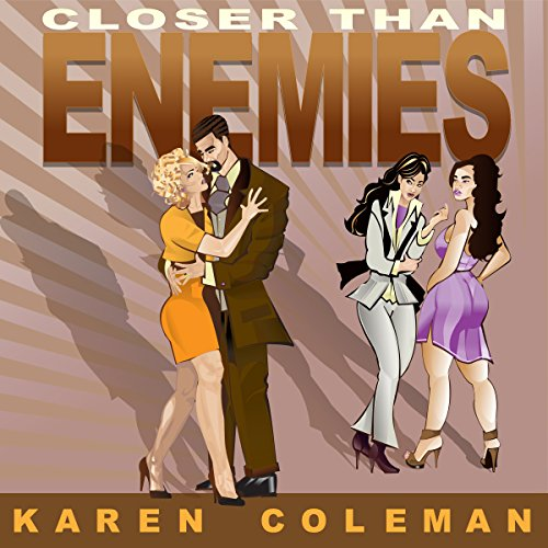 Closer Than Enemies audiobook cover art