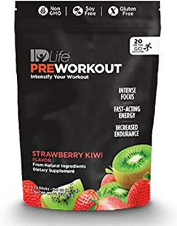 IDLife Pre Workout - Strawberry Kiwi Flavor (Individual Sticks (20 Servings))