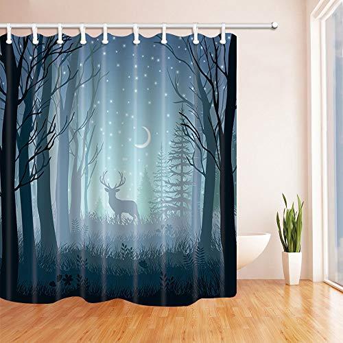cortinas dormitorio paisajes