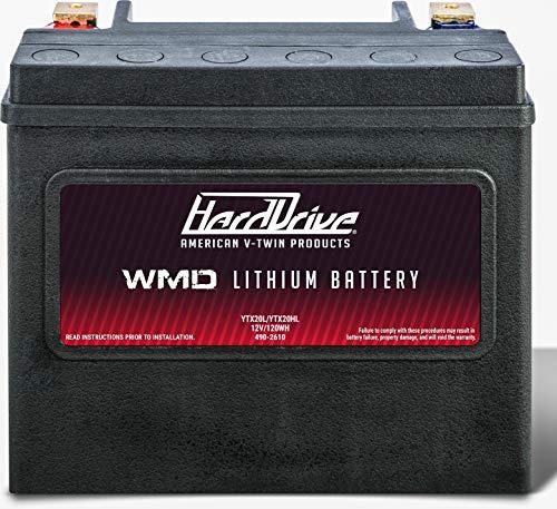 HARDDRIVE WMD LITHIUM BATTERY 500 CCA HJVT-1-FPP 12V/120WH