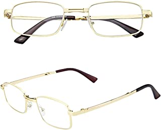 Comfortable Reading Glasses Anti-Blue Light Reading Glasses Folding Portable with Box Reading Glasses Beautiful (Size : +3.0)