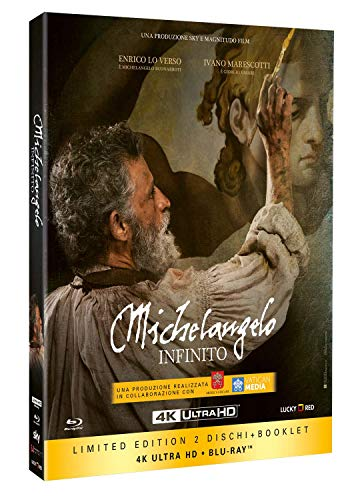 Michelangelo - Infinito (Limited Edition) (Blu-Ray 4K Ultra HD+Blu-Ray+Booklet) [Italia] [Blu-ray]