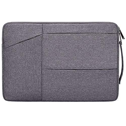 RZL PAD & TAB cases For Lenovo ASUS/Surface Pro 3 Pro 4, Laptop Sleeve Notebook Bag Pouch Case for Macbook Air 11 13 12 14 15 13.3 15.4 15.6 (Color : Darkgray with handle, Size : 13.3 inch)