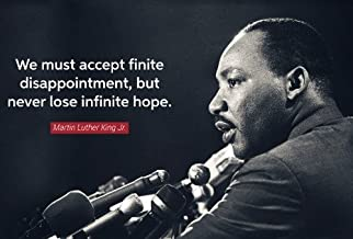 MARTIN LUTHER KING JR QUOTE GLOSSY POSTER PICTURE PHOTO dream speech mlk
