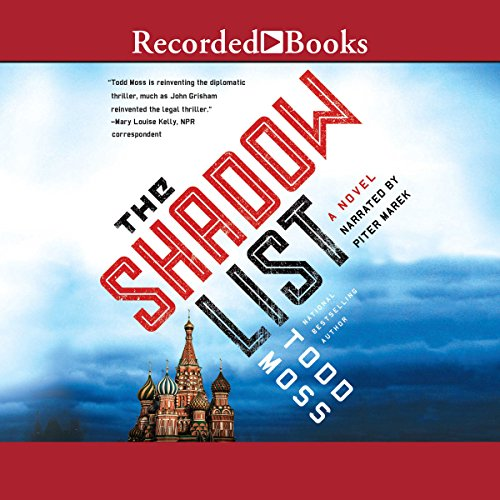 The Shadow List audiobook cover art