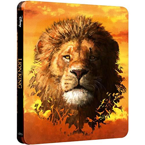 Der König der Löwen - The Lion King, Zavvi exklusiv, Neuverfilmung, Steelbook, Blu-ray 4K UHD mit deutschem Ton + Blu-ray, Uncut, Regionfree