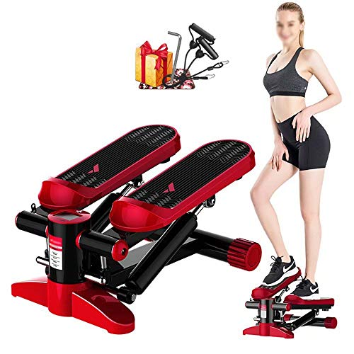 Ultrastille Home Step Machine, Stair Stepper in-situ oefenstepper Aerobic Twist Oefenmachine voor thuiskantoor Fitness Workout Exercise
