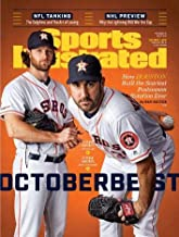 Sport's Illustrated magazine October 7th 2019; Octoberbest / Justin Verlander / Gerrit Cole