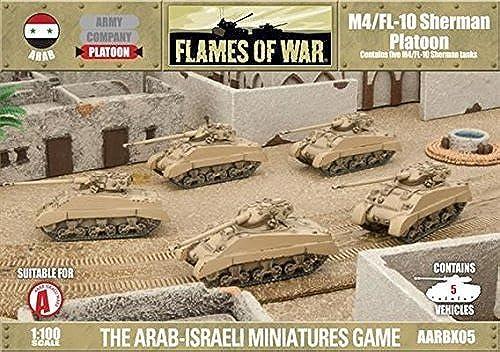 Battlefront Miniatures FOW - Arab-Israeli War  M4 FL10 Sherhomme by Flames of War