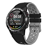 """Bluetooth Smart Watch with Message Notification, 1.3"""" Full Touch Screen Smartwatch IP67 Waterproof"""