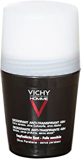 Vichy Homme Desodorante Roll-On Anti-Transpirante 72 H, 50 ml