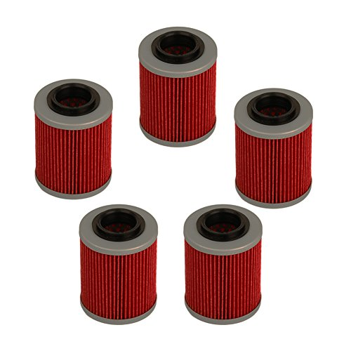 HIFROM Oil Filter Replacement for HF152 Can-am Commander Bombardier Outlander Max 330 400 650 800 500 1000 DS650 DS650X Baja Aprilia Rsv Mille 1005 R 1000 Factory 1000