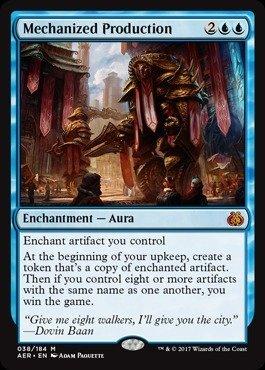 Magic The Gathering - Mechanized Production (038/184) - Aether Revolt
