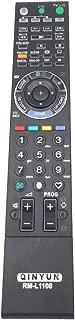 QINYUN RM-L1108 Remote Control for Sony BRAVIA TV W/XBR/ Series LCD Television with Backlit KLV-52W300A KDL-40W3000 RM-YD017 RM-YD024 RM-YD029