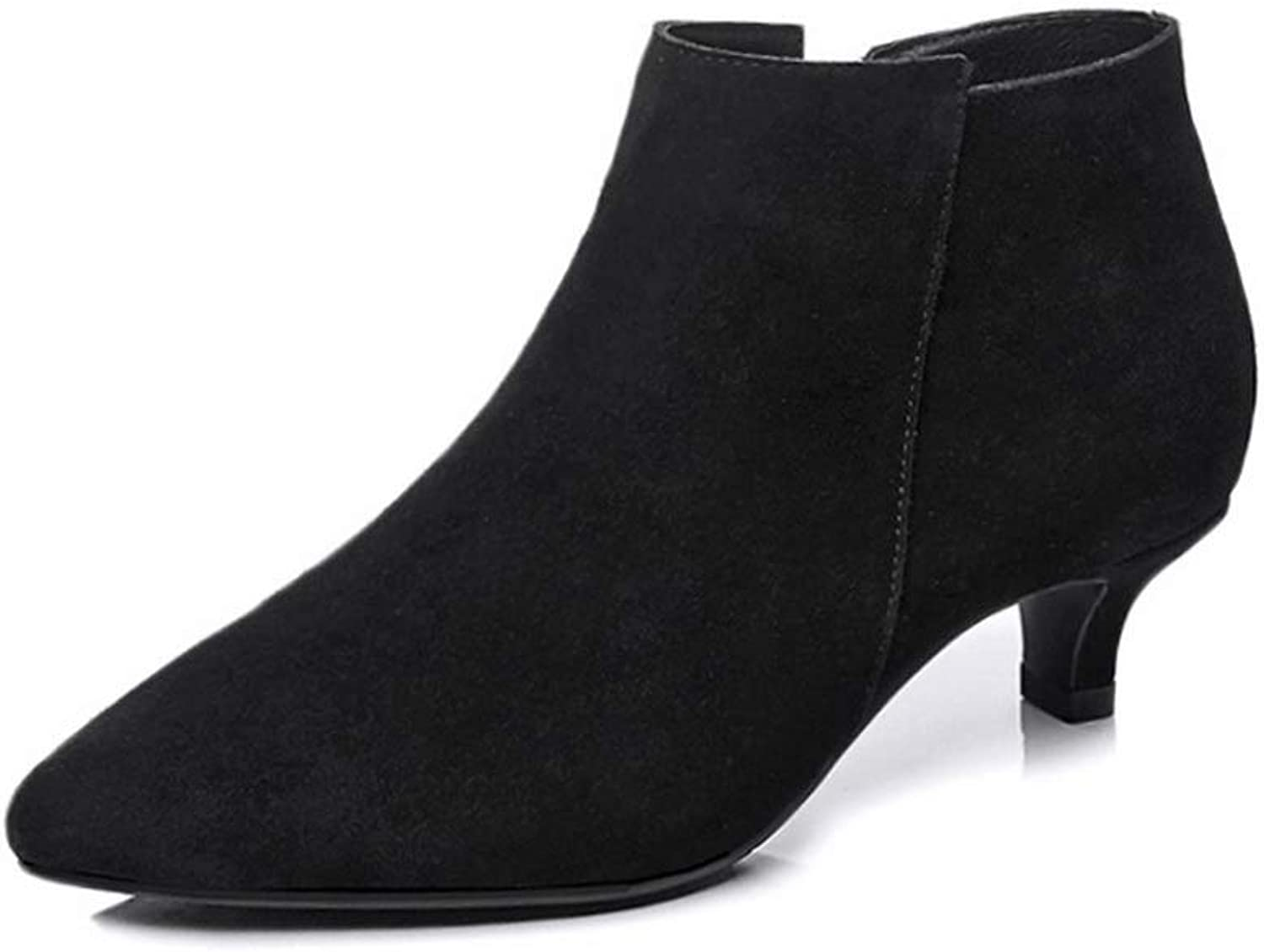 AdeeSu Womens Casual Dress Solid Urethane Boots SXE04849