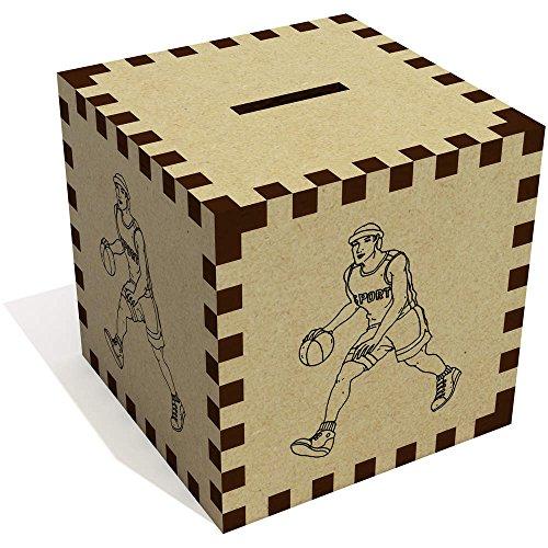Azeeda 'Basketball-Spieler' Sparbüchse / Spardose (MB00035299)