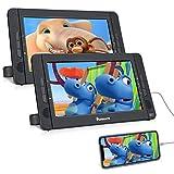 NAVISKAUTO Lettore dvd portatile auto poggiatesta doppio schermo da 10.1 pollici per bambi...