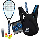 Speedminton Jubiläumsset (S800) Limitiertes Speed Badminton/Crossminton Allround Set inkl. 4...