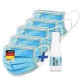 NEU: 50 x Mundschutz, Staubschutz – Einweg Mundbedeckung aus Vlies (Versand aus DE)