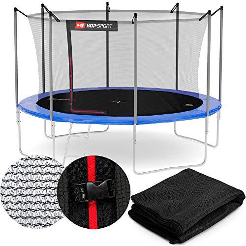 Hop-Sport Sicherheitsnetz für das Gartentrampolin 244-490 cm innenliegend außenliegend Ersatznetz Outdoor Trampolin 305 cm 4 innen