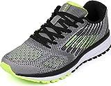 WHITIN Unisex Sportschuhe Damen Herren Turnschuhe Laufschuhe Sneakers Männer Walkingschuhe Modisch Bequem Joggingschuhe Fitness Schuhe Grau Grün Größe 42