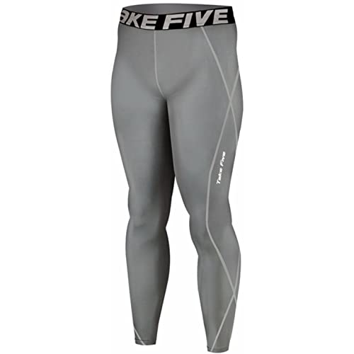 Take Five Mens Skin Tight Compression Base Layer Running Pants Leggings 019 CA