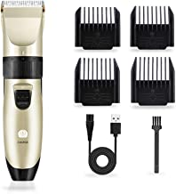 Hair Clippers for Men Body Hair Removal Machine with 4 Combs Electric Razor Cordless & Corded Rechargeable Hair Beard Trimmer