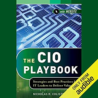 The CIO Playbook audiobook cover art