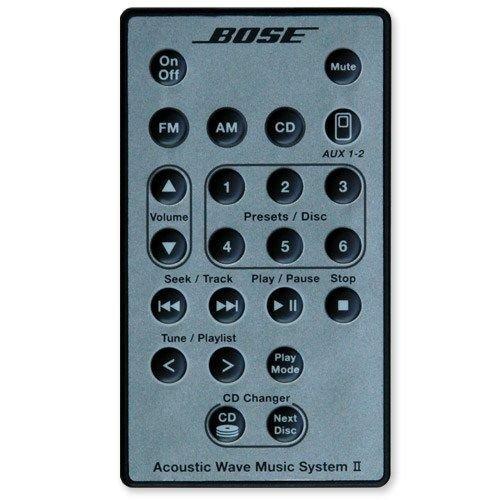 Bose argento telecomando per Acoustic Wave Music System II con 5multi-cd Changer di