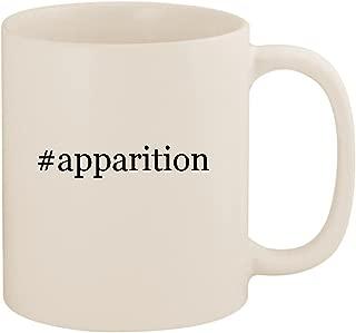 #apparition - 11oz Ceramic Coffee Mug Cup, White