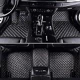 Alfombrillas Coche Cuero Impermeable Antideslizante Alfombra Auto Decoraciones de interior Delanteras y Traseras para Volkswagen Polo Mk5 6R Vento 2010-2018 Accesorios Cobertura Completa