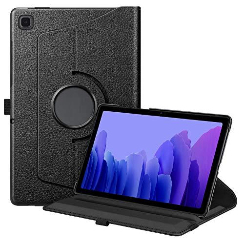 Fintie Hülle für Samsung Galaxy Tab A7 10,4 2020, 360 Grad verstellbare Schutzhülle Cover Hülle Tasche mit Auto Schlaf/Wach Funktion für Galaxy Tab A7 10.4 SM-T500/505/507 Tablet, Schwarz