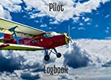 Pilot Logbook: Flight log book | Logbook and flight tracking, aircraft, glider, helicopter | 8' x  6' | 100 pages