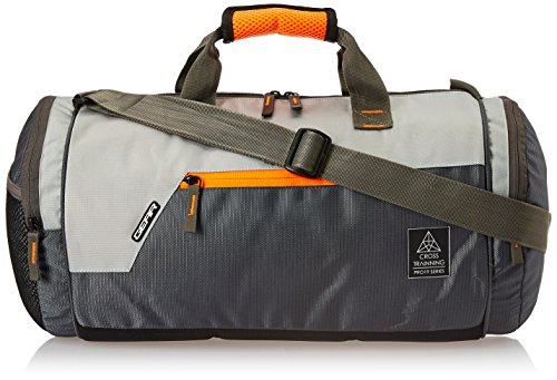 Gear Cross Training Travel Duffel Grey Orange (DUFCRSTNG0406)