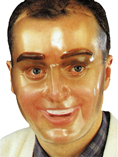 Disguise Transparent Young Man Mask,Beige,Standard