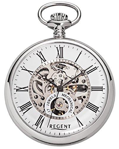 Orologio da taschino scheletro 50 mm Regent