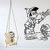 wZUN Calcomanías de Pared de Dibujos Animados clásicos decoración del hogar Sala de Estar decoración de la Pared de la habitación de los niños 85X109cm