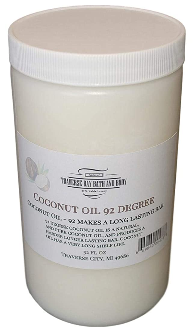 Coconut Oil 92 Soap Making Supplies. 32 fl oz DIY Projects.