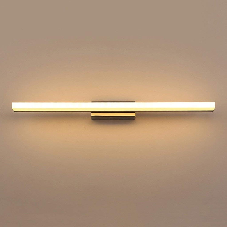 JBP Max Spiegel Licht Badezimmer Licht LED Spiegel Scheinwerfer Spiegel Schrank Nachtwandleuchte Bad Wasserdichte Nebelscheinwerfer-JBP21,Weißlight,7W 40Cm