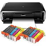 Canon Pixma iP7250 Imprimante jet d'encre avec WLAN, imprimante photo et impression sur CD Mit 10 XL Patronen